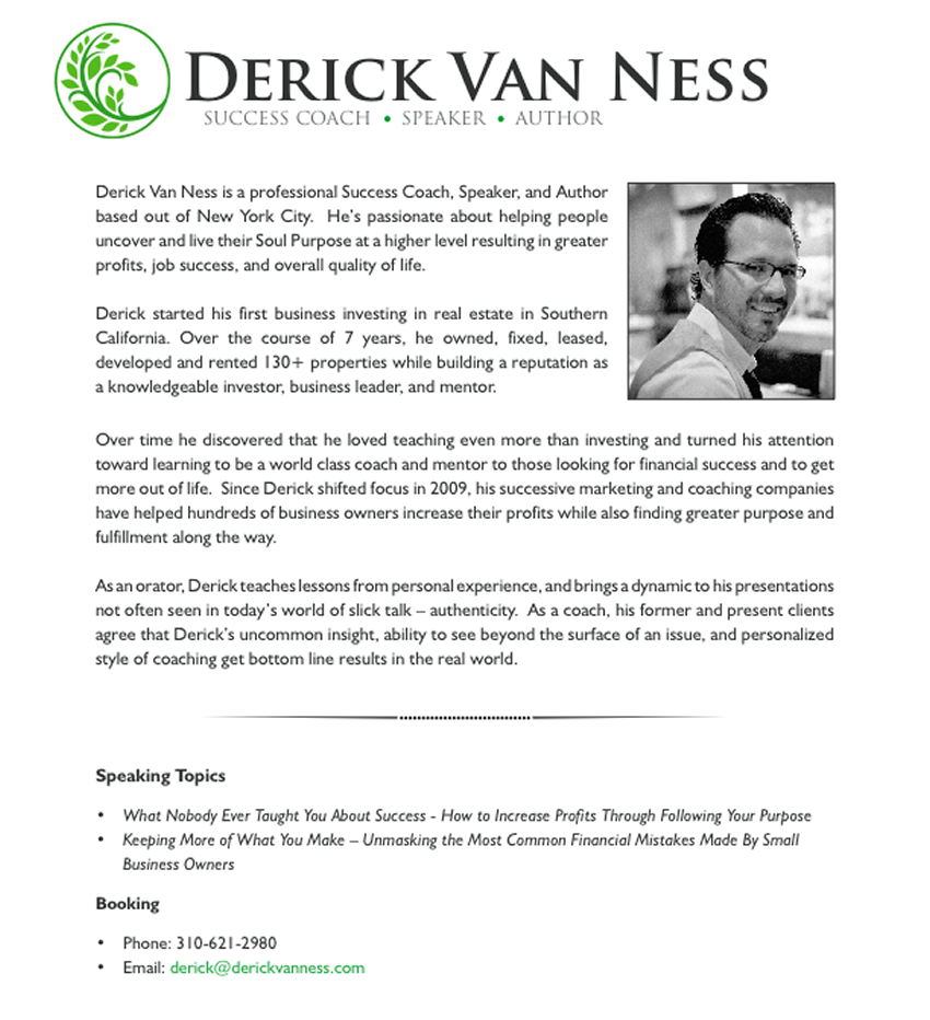 DerickVanNessSpeakerAuthorCoach